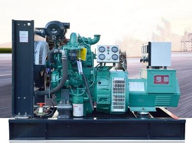 亳州全新上柴50kw大型柴油发电机组