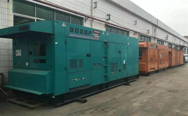 亳州工厂发电机出租供电