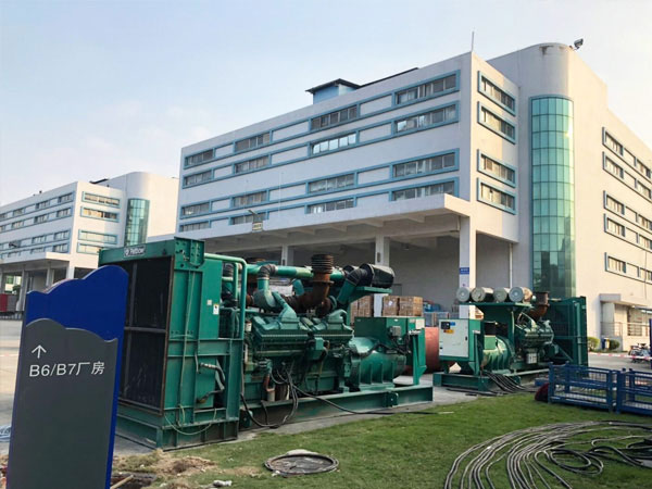 亳州某电子厂出租两台康明斯发电机