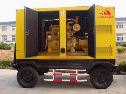 亳州应急发电机-300kw移动静音发电机组