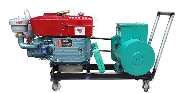 亳州二手上柴10kw小型柴油发电机