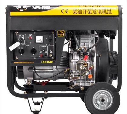 亳州谯城二手上柴5kw小型柴油发电机